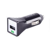 CARGADOR APPROX PARA COCHE A USB 5V/1A COLOR NEGRO APPUSBCARB